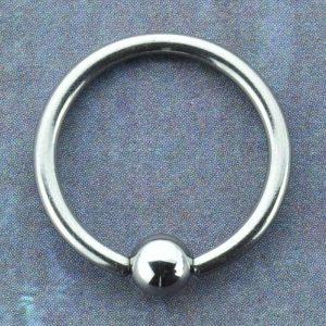 Niobium Captive Bead Ring