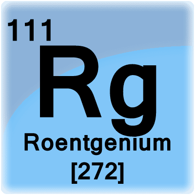 Roentgenium Facts Symbol Discovery Properties And Uses