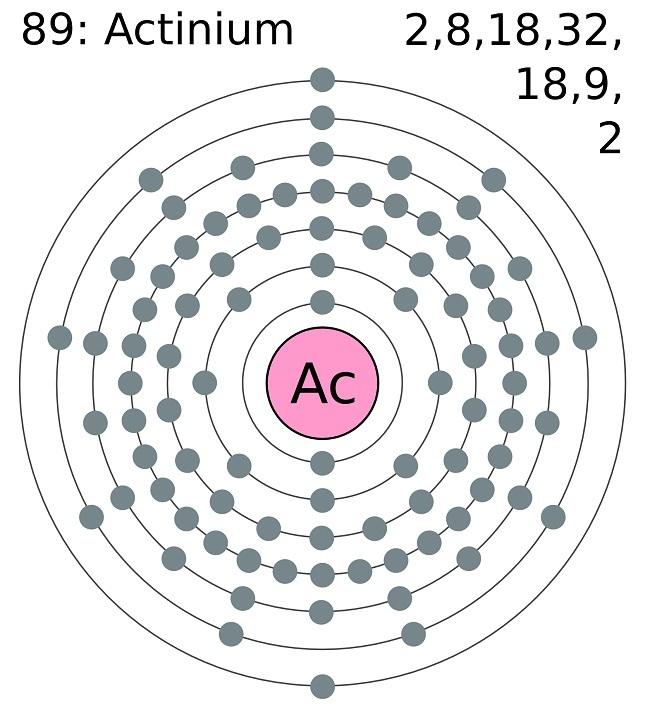 Actinium Bohr Diagram Auto Electrical Wiring Diagram