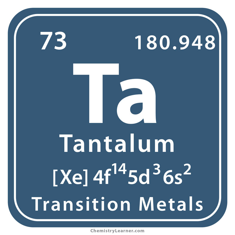Tantalum Facts, Symbol, Discovery, Properties, Uses