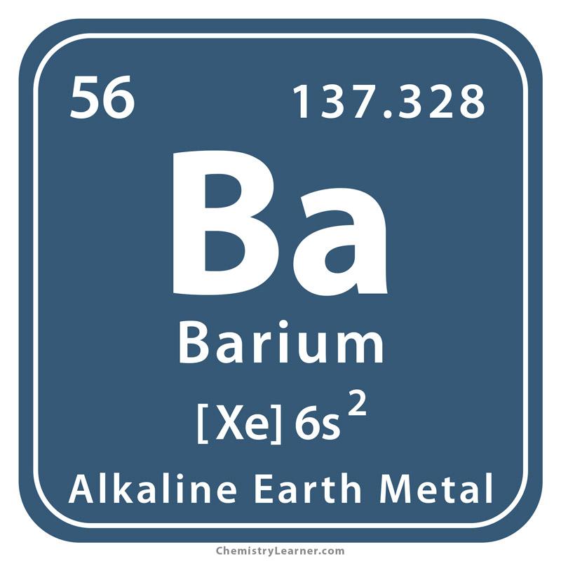 Barium Facts, Symbol, Discovery, Properties, Uses Barium Symbol