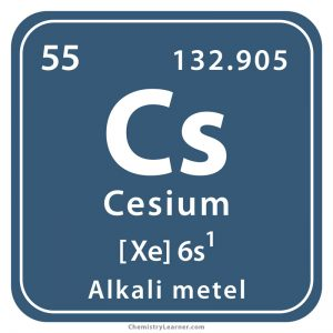 Cesium Facts, Symbol, Discovery, Properties, Uses