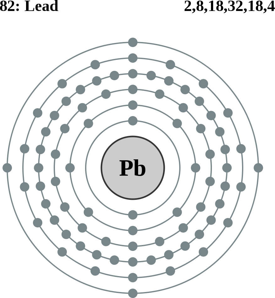 lead bohr diagram with protons and neutrons bohr diagram electrons protons and neutrons