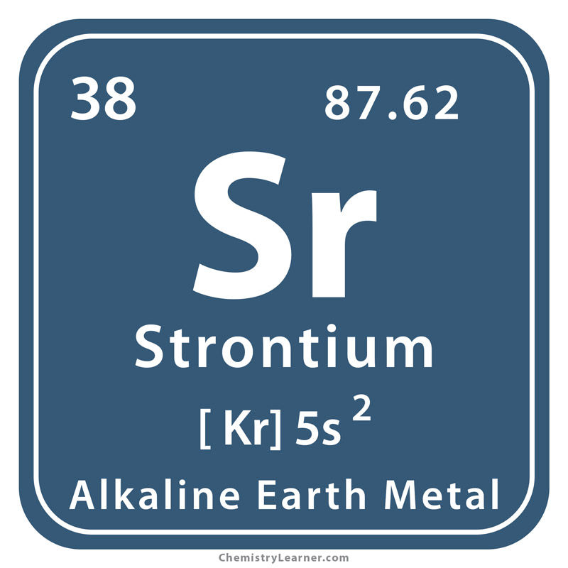 Strontium Definition Facts Symbol Discovery Properties Uses