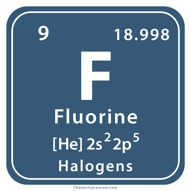 Fluorine Facts  Symbol  Discovery  Properties  Uses