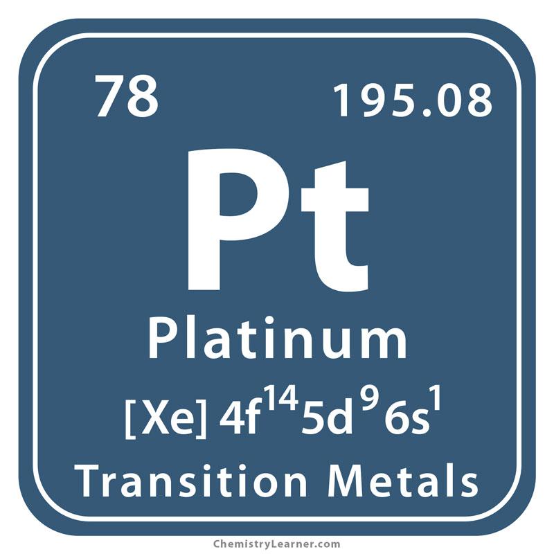 Platinum Symbol
