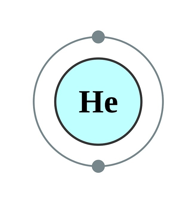 Dot Diagram For Helium