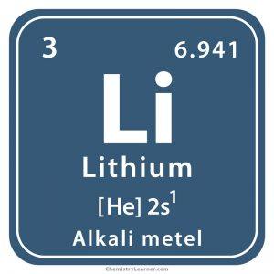 Lithium Facts Symbol Discovery Properties Uses