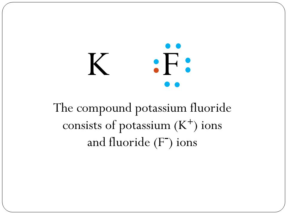 Potassium Fluoride Facts Formula Properties Uses