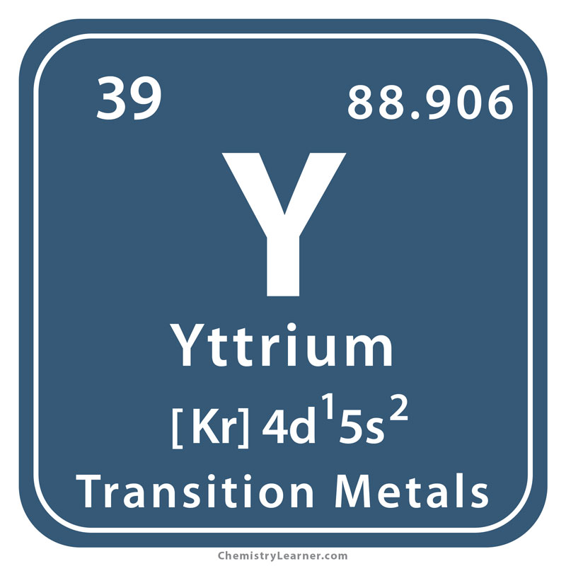 Yttrium Facts, Symbol, Discovery, Properties, Uses, Pictures