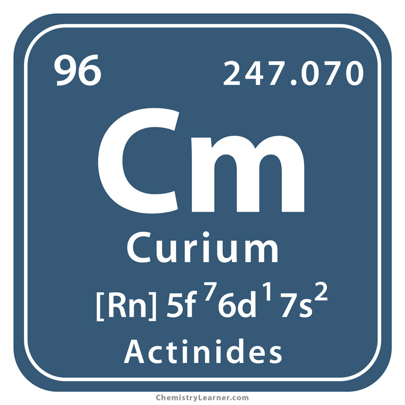 Curium Facts, Symbol, Discovery, Properties, Uses