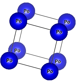 Crystal Structure of Polonium