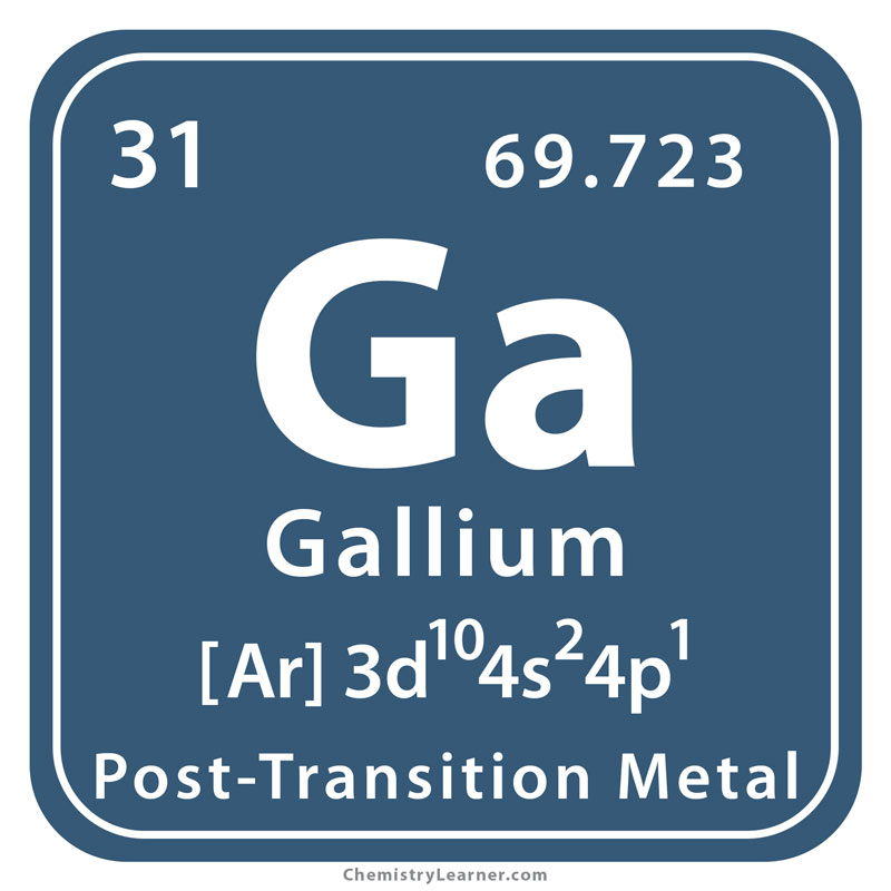 Gallium Facts, Symbol, Discovery, Properties, Uses, Images